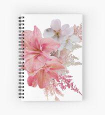 Bouquet of Flowers Print Spiral Notebook