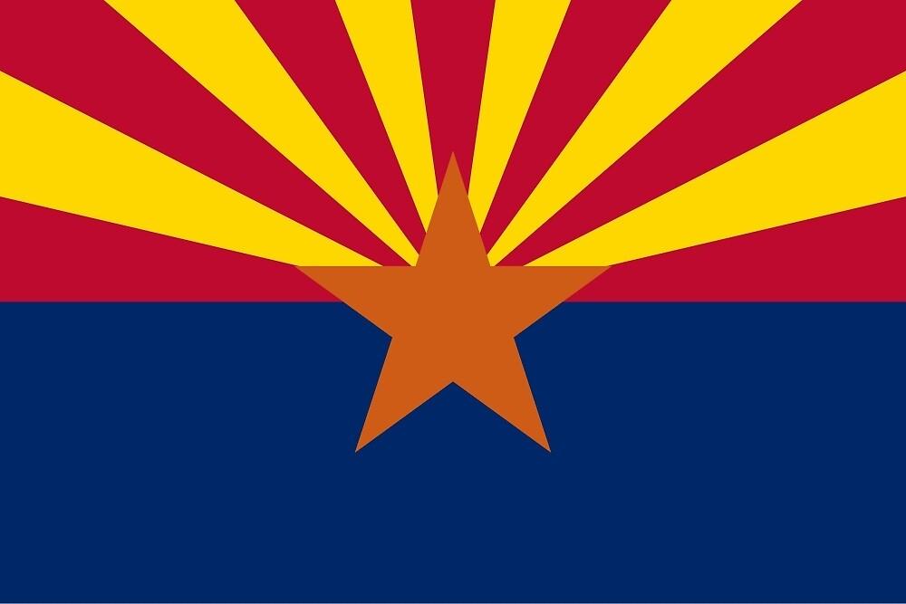 Flag of Arizona  by abbeyz71
