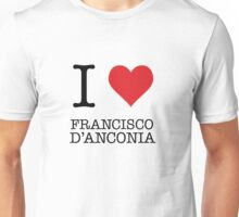 I Heart Francisco D'Anconia Unisex T-Shirt