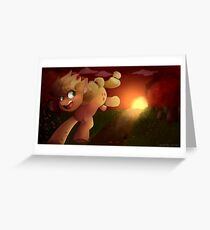Applejack painting Greeting Card