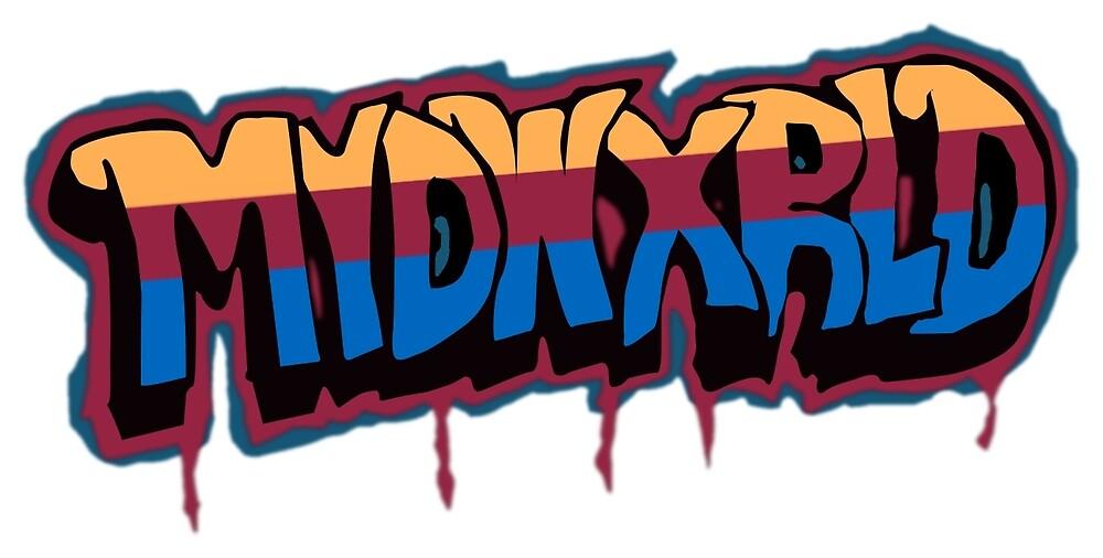 MVD WXRLD Graffiti by Nameless Creative