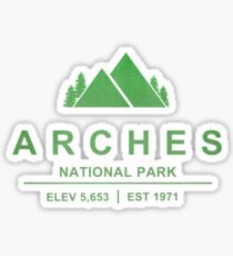 Arches National Park, Utah Sticker