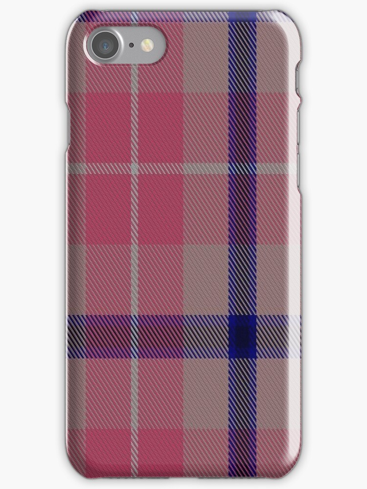 01477 Think Pink (ICF) Tartan  by Detnecs2013