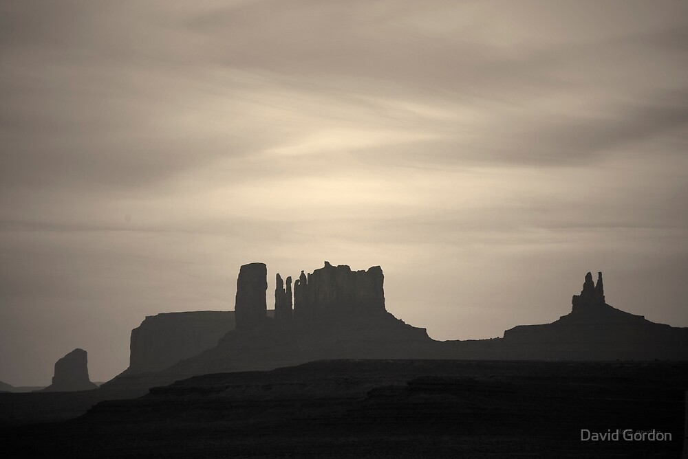 Monument Valley III Toned by David Gordon