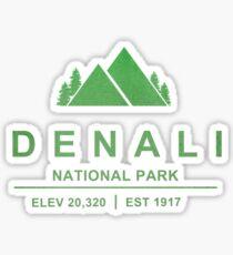 Denali National Park, Alaska Sticker