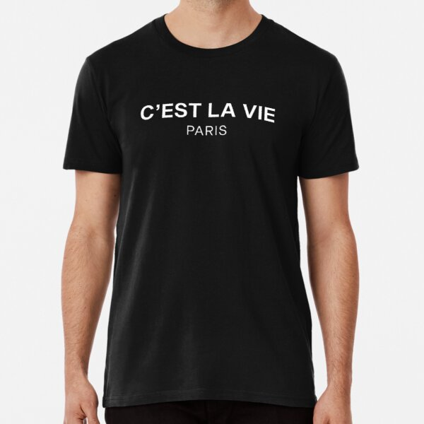 C'est La Vie París Camiseta premium