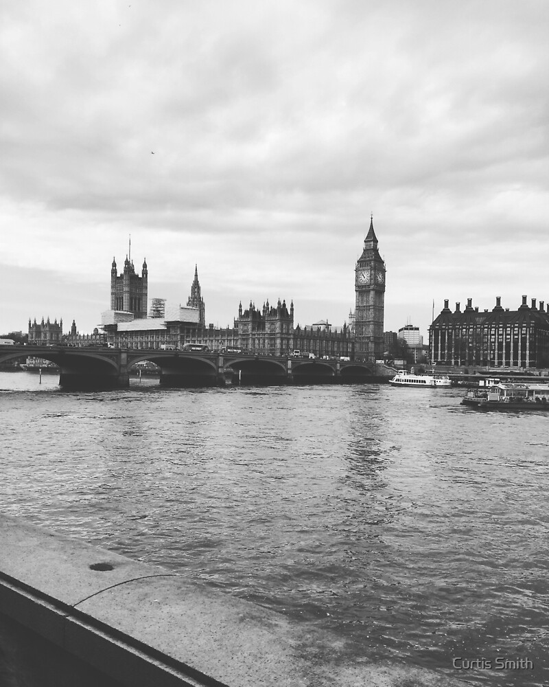 London Grayscale  by Curtis Smith