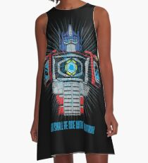 One with the Matrix A-Line Dress