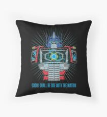 One with the Matrix Throw Pillow