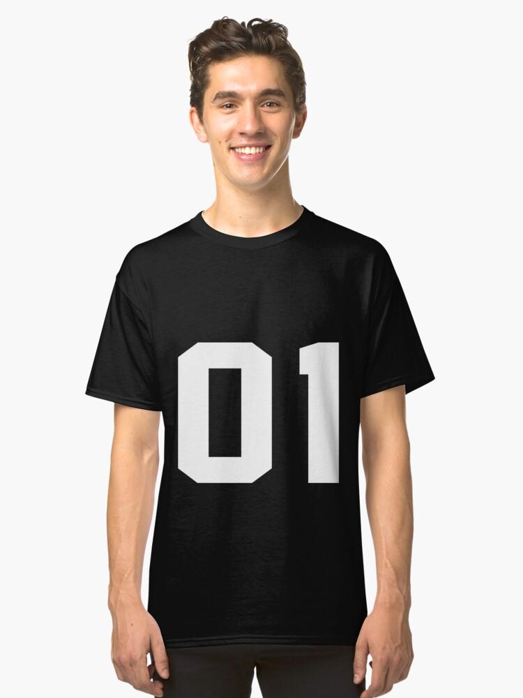 Team Jersey 01 T-shirt / Football, Soccer, Baseball Classic T-Shirt Front