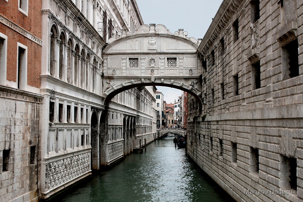 Bridge of Sighs by Marylou Badeaux