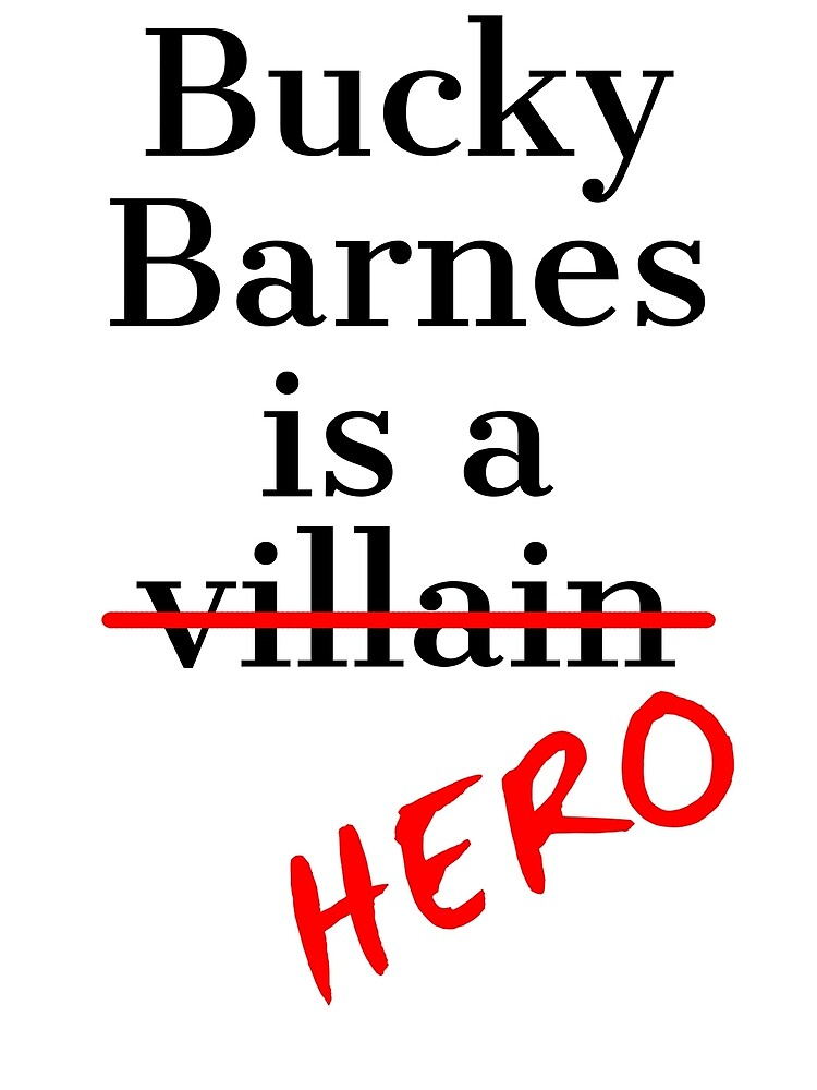 Bucky Barnes is a Hero by thatfandomlife