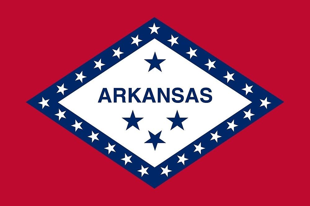Flag of Arkansas  by abbeyz71