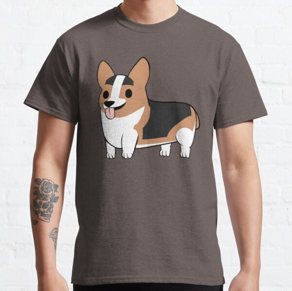 Redhead Tricolor Corgi Classic T-Shirt