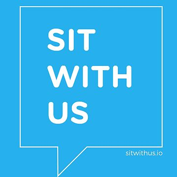 Sit With Us Swag by carolynhampton
