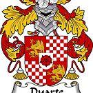 Duarte Coat of Arms/ Duarte Family Crest by William Martin