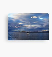 Champlain Solitude Canvas Print