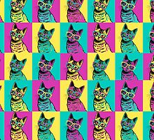 kitten art pop by theArtoflOve
