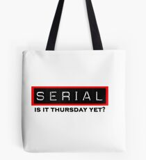 Serial Podcast Tote Bag