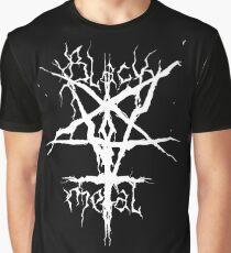 Black Metal Graphic T-Shirt