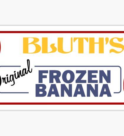 Bluth's Original Frozen Banana Stand Sticker