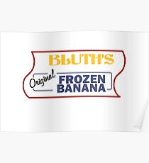Bluth's Original Frozen Banana Stand Poster