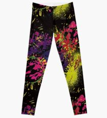 Abstract Excitement Leggings