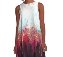 Art splat A-Line Dress