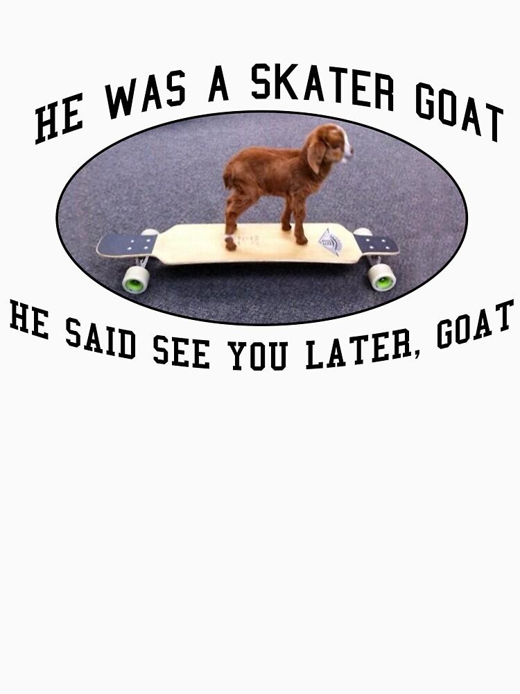 Skater Goat | Unisex T-Shirt