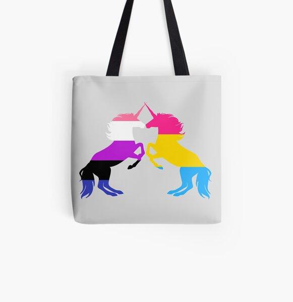 Cotton Tote Bag Pan Pride LGBT Bag Gay Pride Queer Reusable Grocery Bag Pride Pansexual Tote Bag Feminism LGBTQ Pansexual Pride