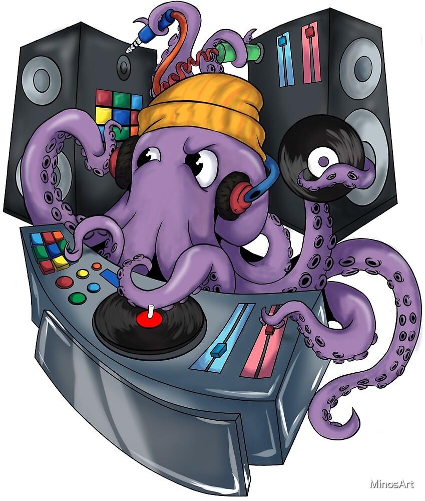 DJ OCTOPUS by MinosArt