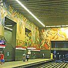 Metro Station Universidad de Chile, Santiago by Graeme  Hyde