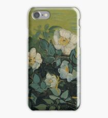 Vincent Van Gogh - Wild roses, Famous Painting. Impressionism. Van Gogh iPhone Case/Skin