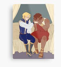 "Captive Prince - ""I'm not toying with you."" Metal Print"