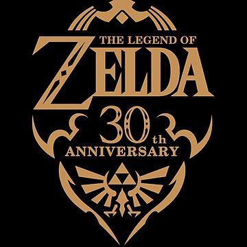 Zelda 30th anniversary by Nobukuro