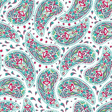 Seamless Ethnic Pattern Hand Drawn by HelgaGraf