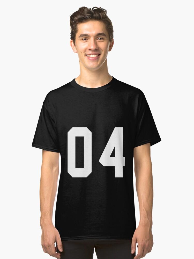 Team Jersey 04 T-shirt / Football, Soccer, Baseball Classic T-Shirt Front