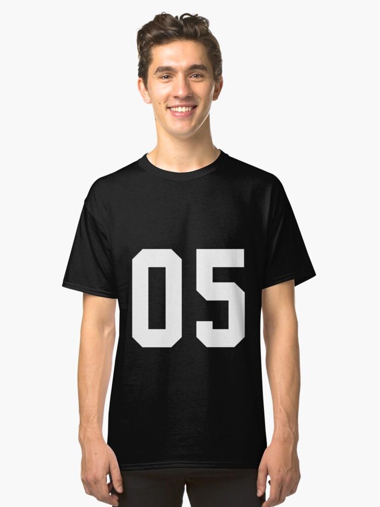 Team Jersey 05 T-shirt / Football, Soccer, Baseball Classic T-Shirt Front