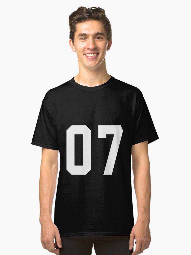 Team Jersey 07 T-shirt / Football, Soccer, Baseball Classic T-Shirt Front