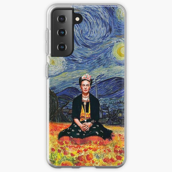 Frida Kahlo Art Samsung Galaxy Soft Case