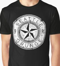 Seattle  Grunge Graphic T-Shirt