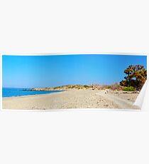 Amazing Beach of Chrissi Island, near Crete, Greece Poster