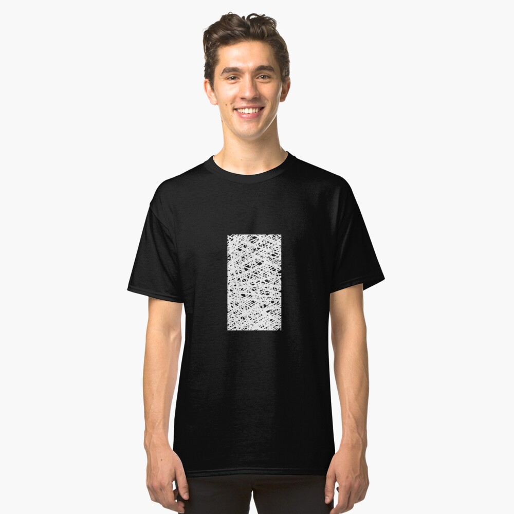 Scribble Web Classic T-Shirt Front