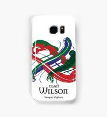 Clan Wilson  Samsung Galaxy Case/Skin