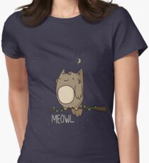Meowl Women's Fitted T-Shirt