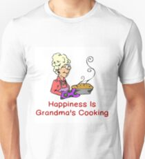 HAPPINESS IS GRANDMA'S COOKING T-Shirt
