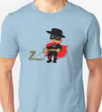 Retro Kid Billy features the legendary Zorro  Unisex T-Shirt