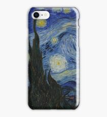Vincent Van Gogh - Starry Night,  Impressionism .Starry Night, 1889 iPhone Case/Skin