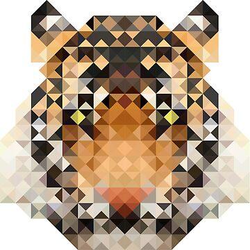 Mosiac Tiger by ReeDott