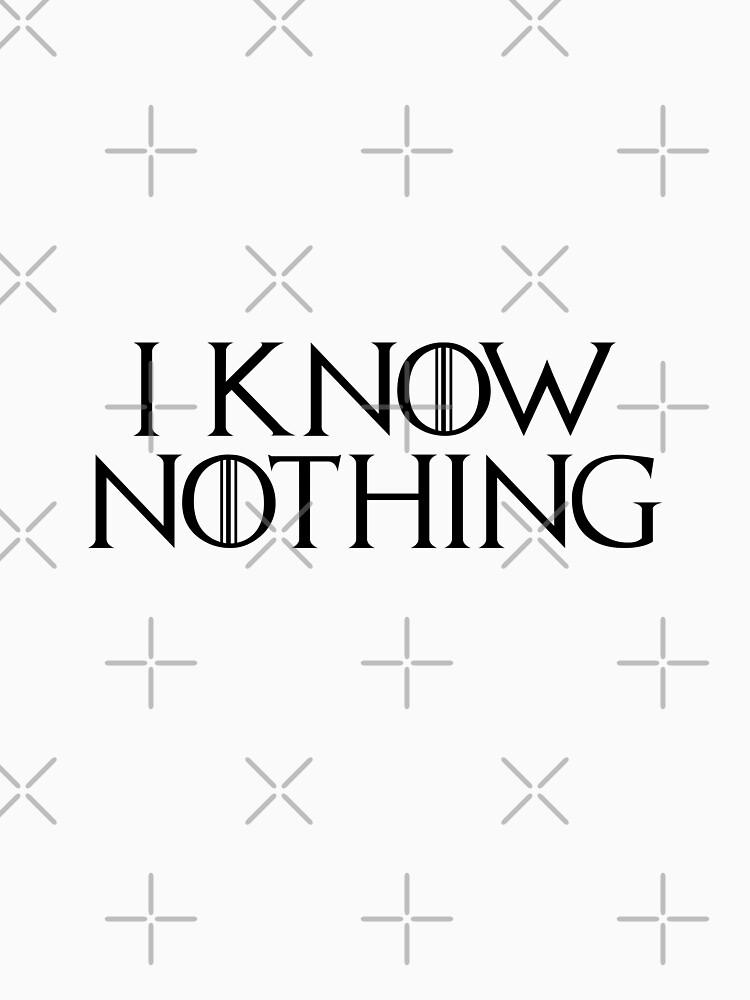 I know nothing, like Jon! by Soronelite